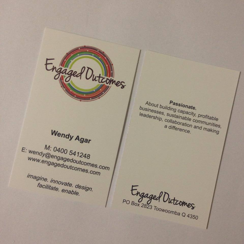 Graphic design toowoomba web design toowoomba marketing vigour business cards reheart Images